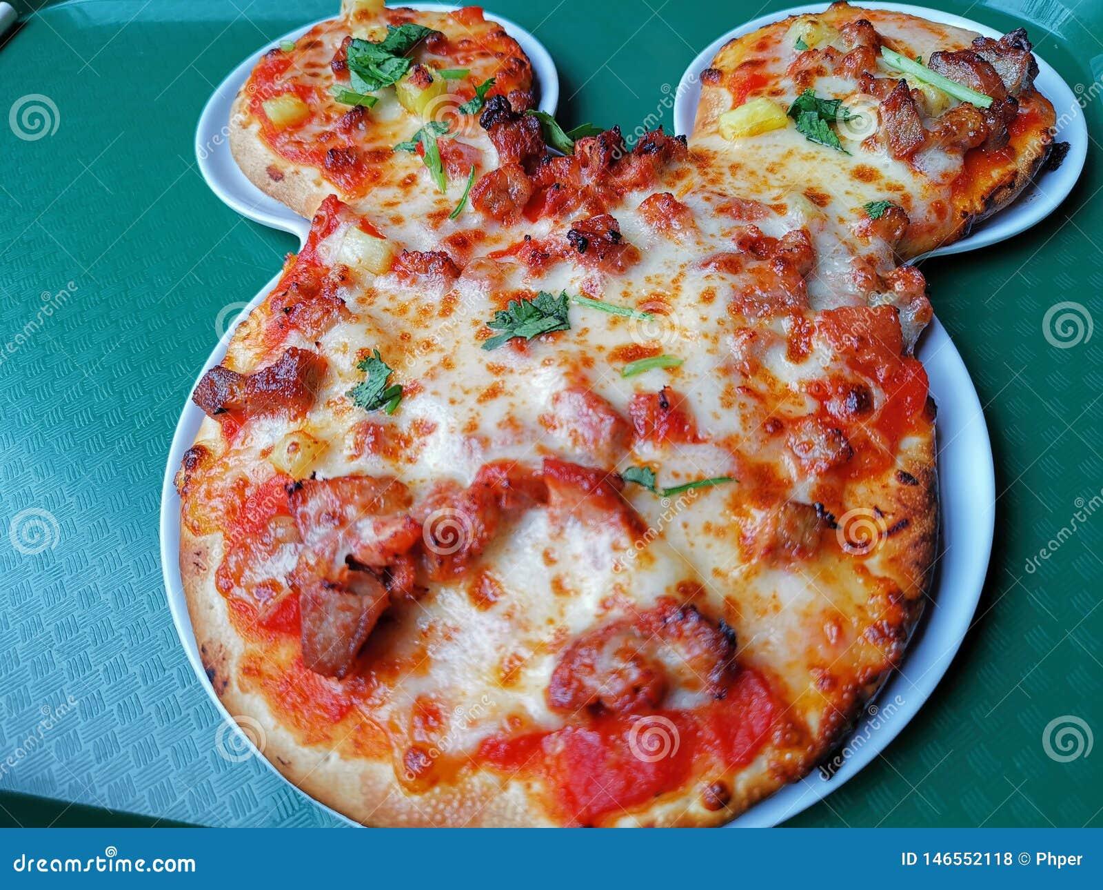 Terre de Mickey Mouse Pizza @ Changhaï Disney, Chine