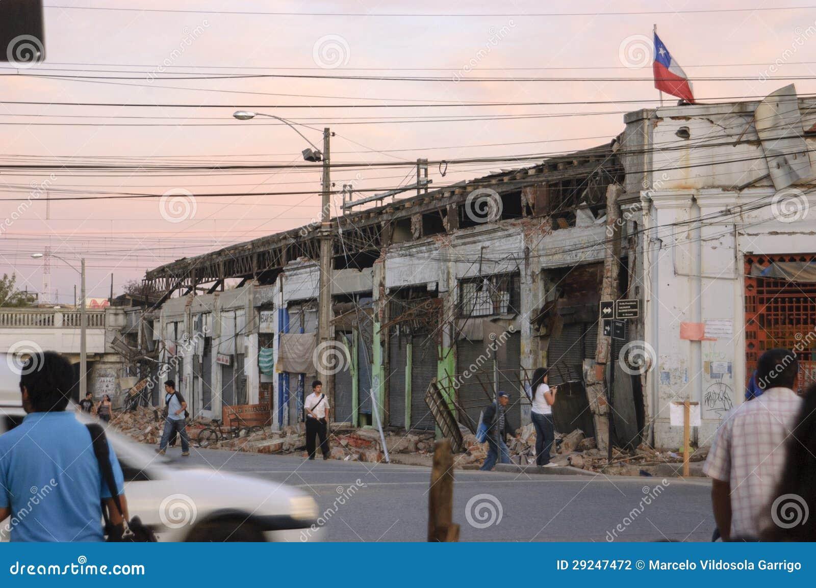 Download Terremoto fotografia editorial. Imagem de estrada, disastre - 29247472