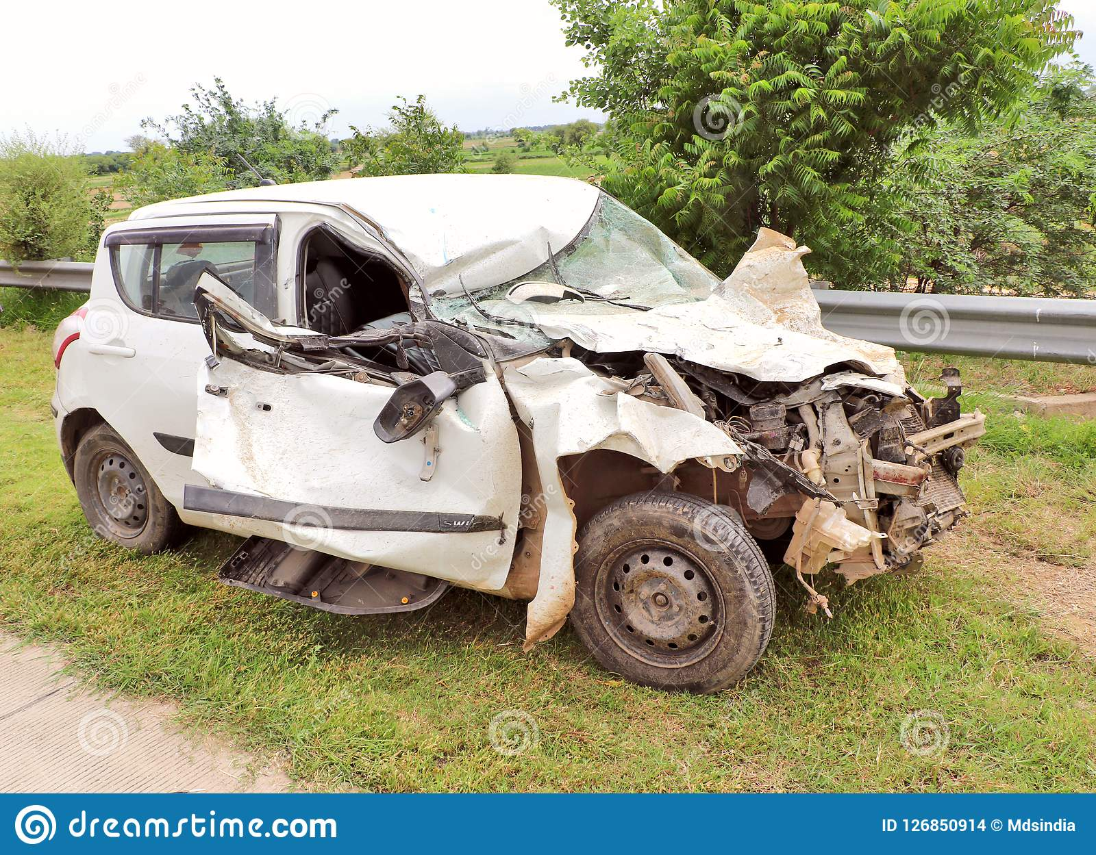 Terrible Car Accident Editorial Stock Image Image Of Danger 126850914