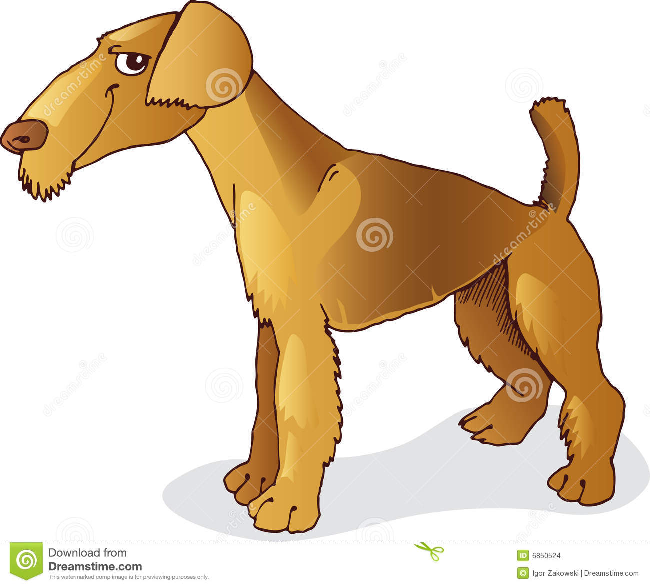 Terrier собаки airedale