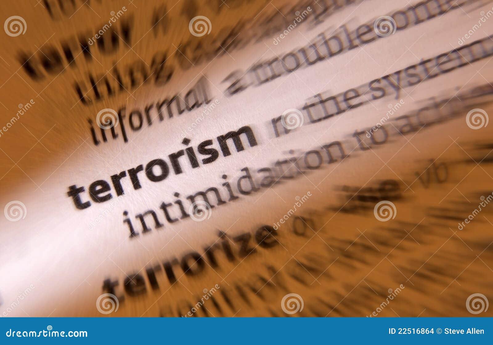 Terrorismus - Terrorist