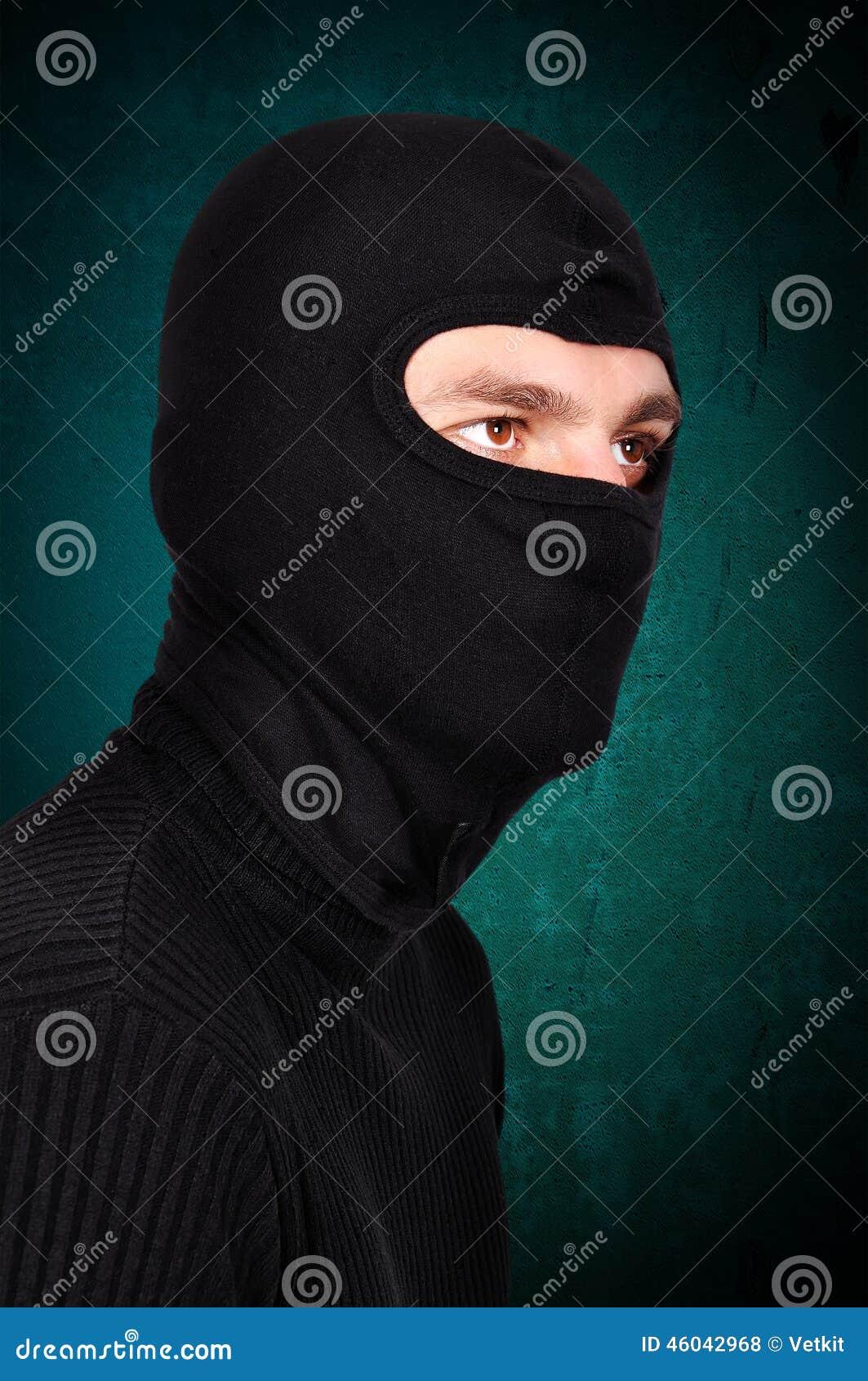 Terrorist in der Maske