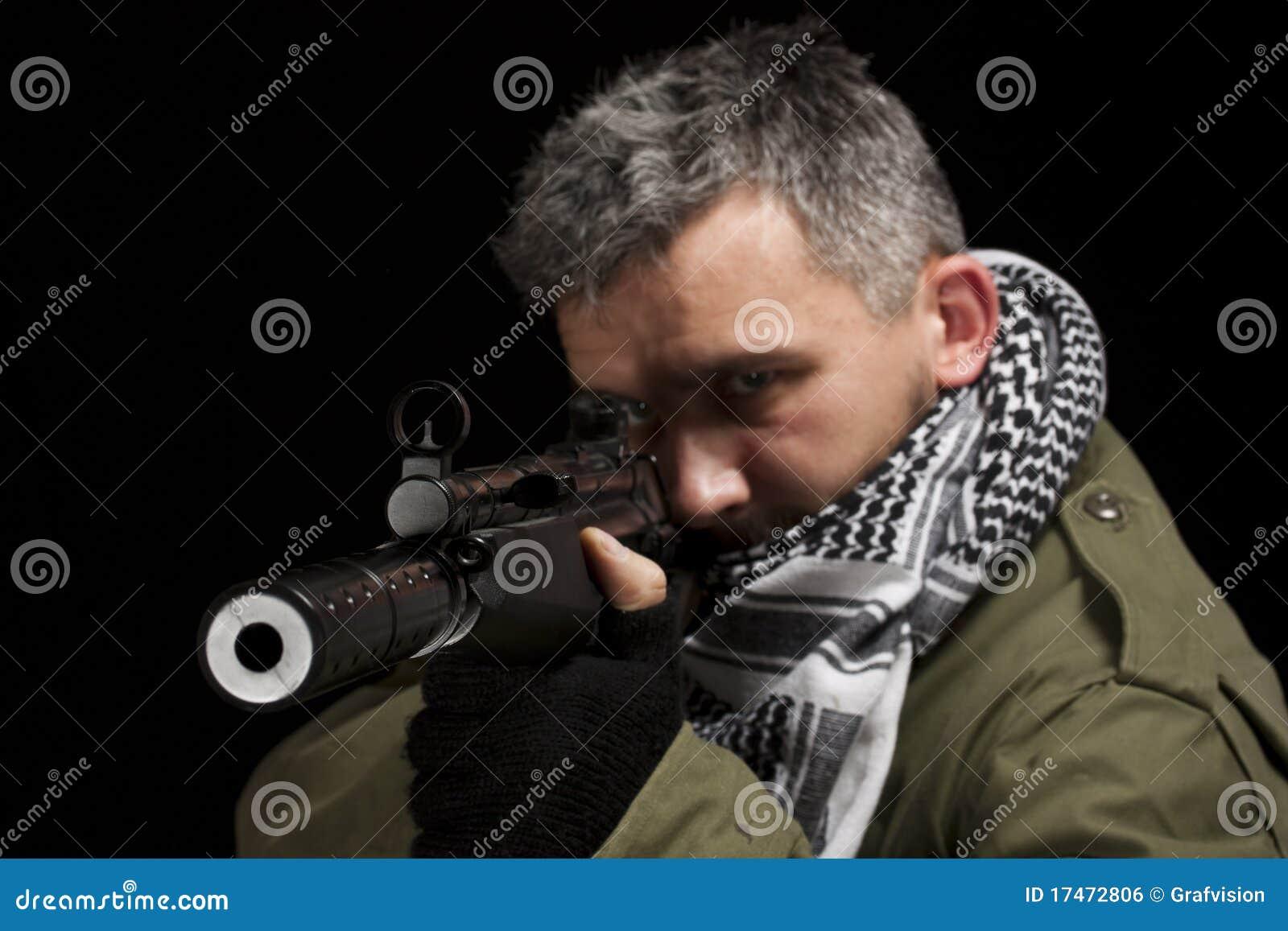 Terrorist Whitgewehr