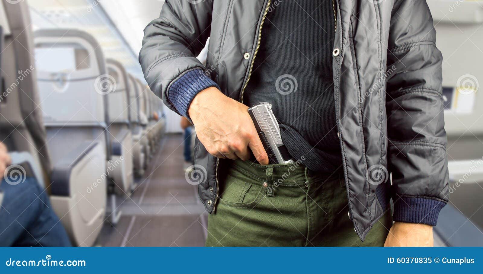 Terroriste dans un avion