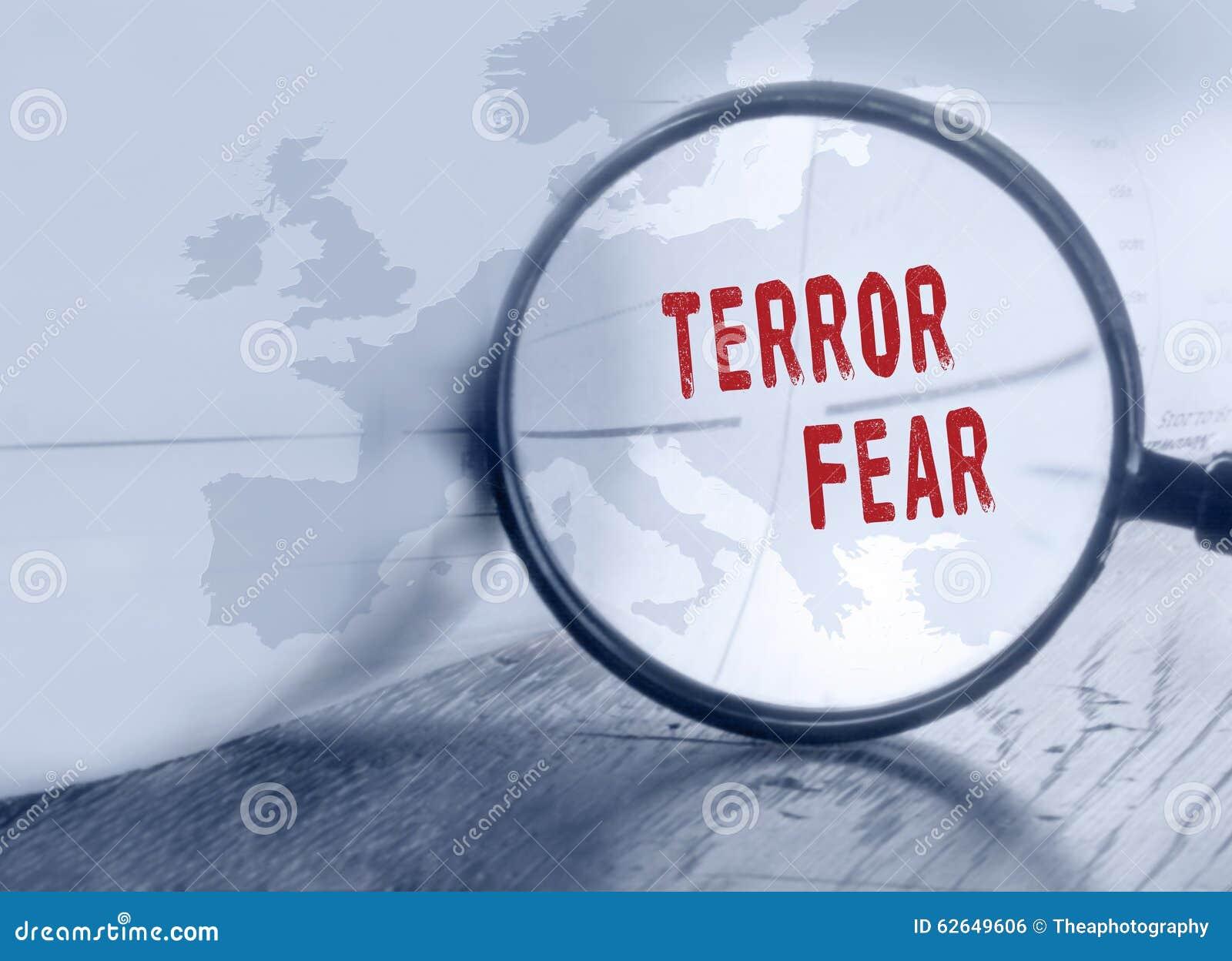 Terroru strach w Europa