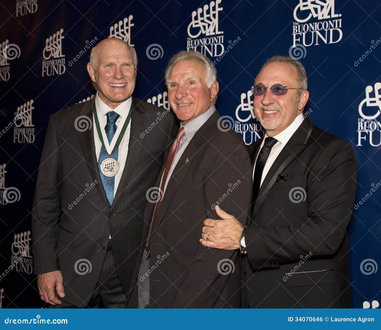 Terry Bradshaw, Nick Buoniconti, and Emilio Estefan