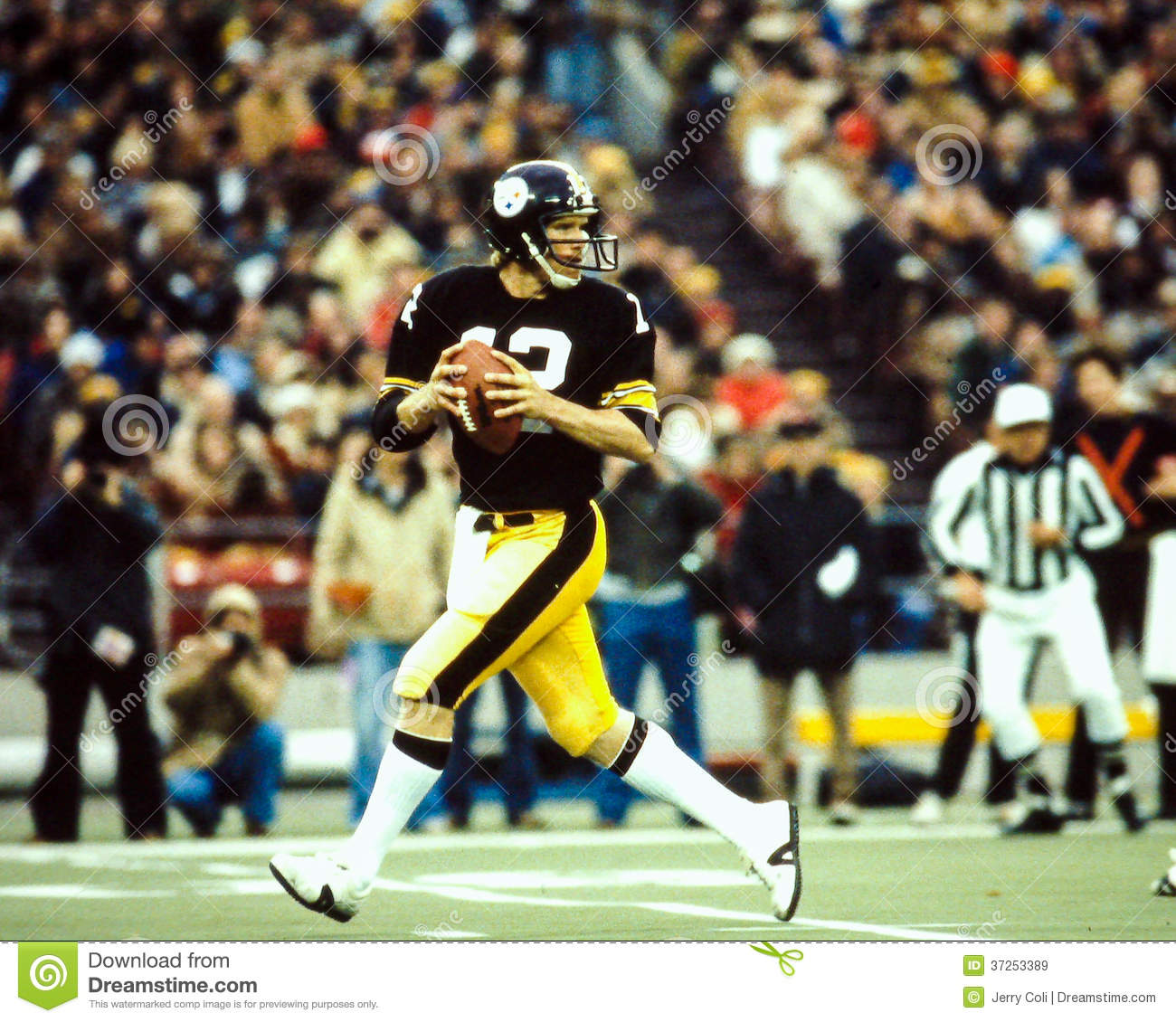 Pittsburgh steelers hall of fame qb terry bradshaw image taken from