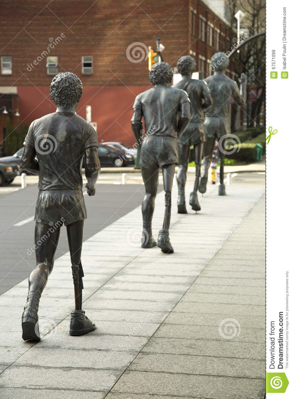 Terry Fox Statues Editorial Stock Image - Image: 67571099 | 957 x 1300 jpeg 165kB