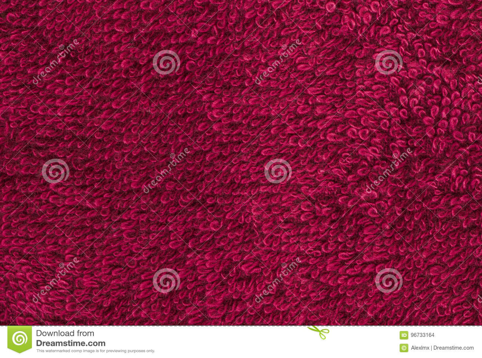 terrycloth red closeup fabric texture background high resoluti