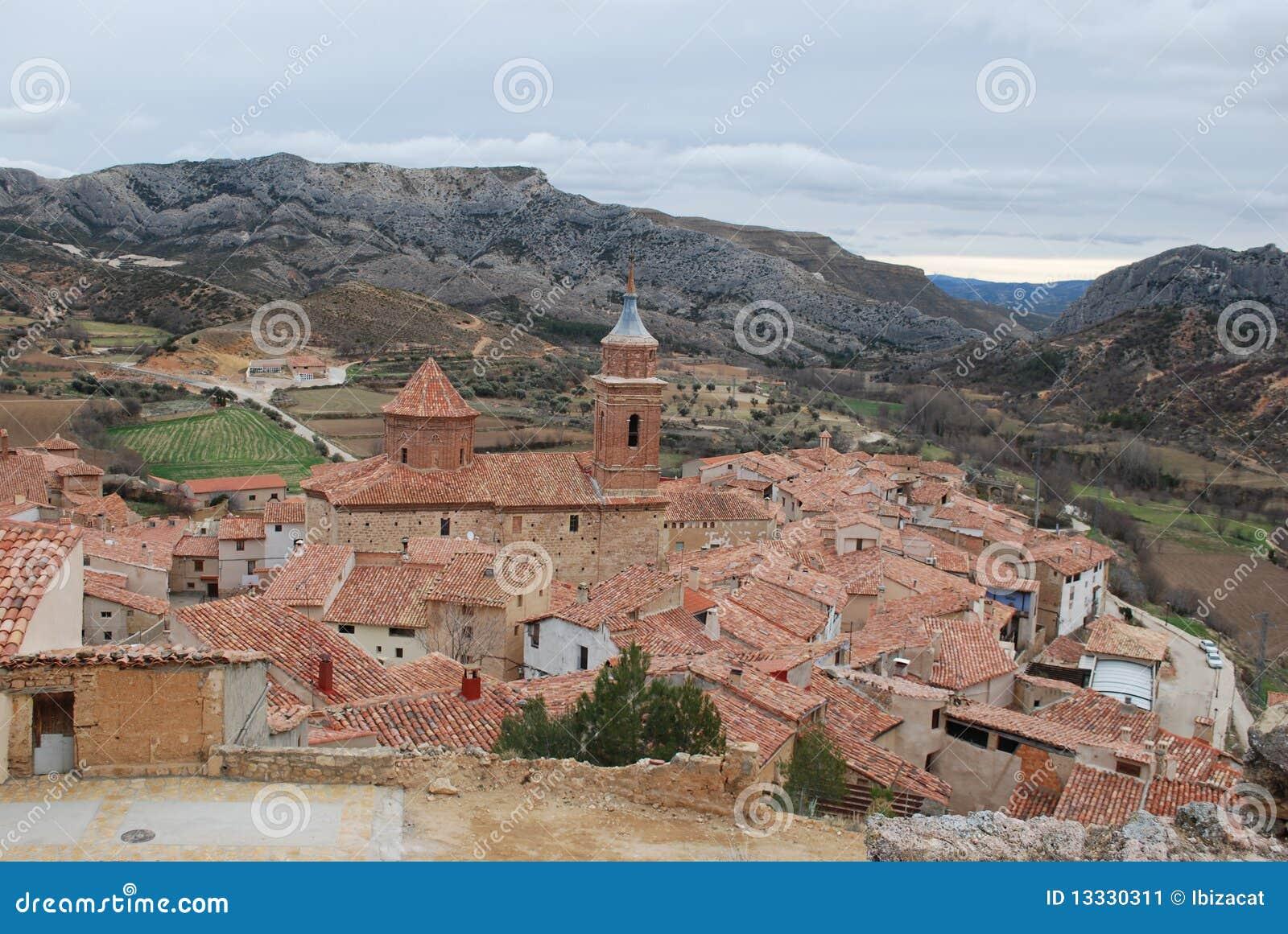 Teruel mały miasteczko