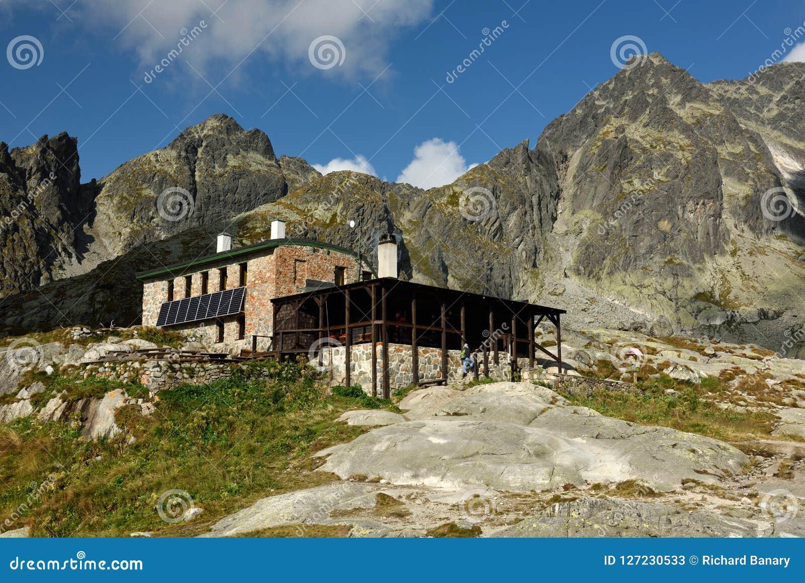 Teryho-chata, Mala Studena-dolina, Vysoke Tatry, Slowakei
