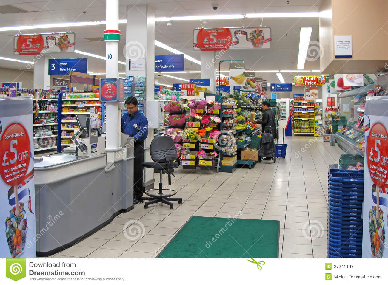 tesco is biggest supermarket In london, we chose tesco, the largest supermarket chain in the uk, which  occupies 278% of market share but is also considered to be a.