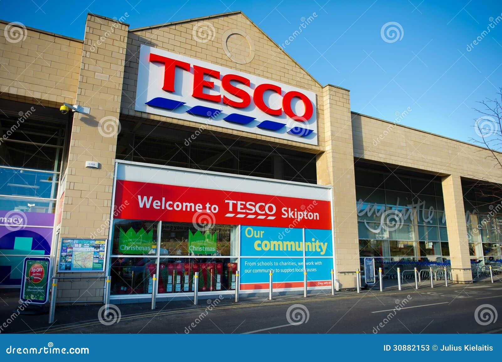 Tesco is biggest supermarket