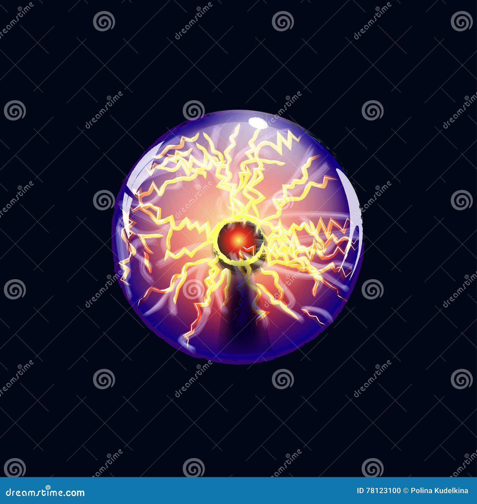Tesla Ball Stock Illustration - Image: 78123100