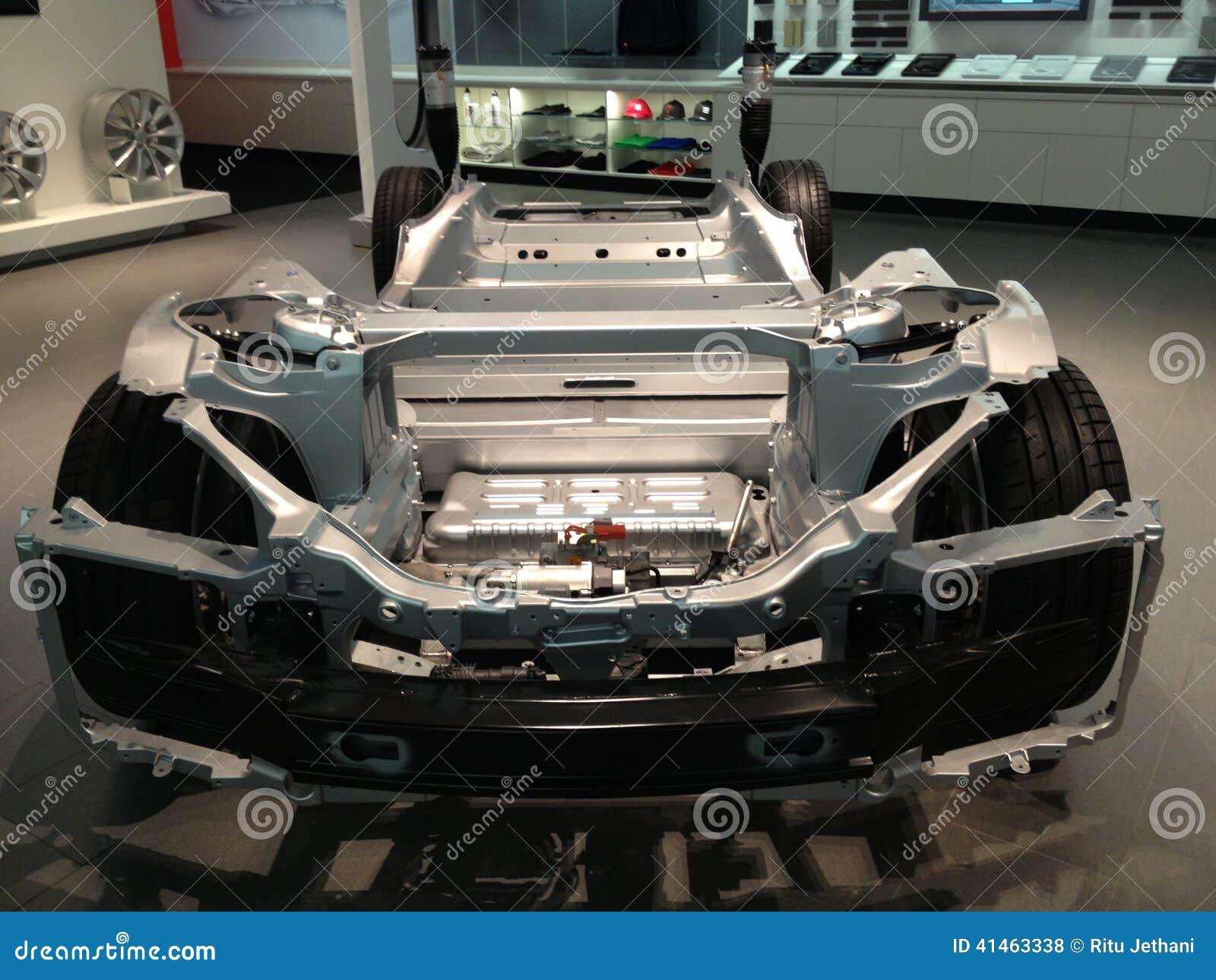 tesla car interior stock photo image 41463338. Black Bedroom Furniture Sets. Home Design Ideas