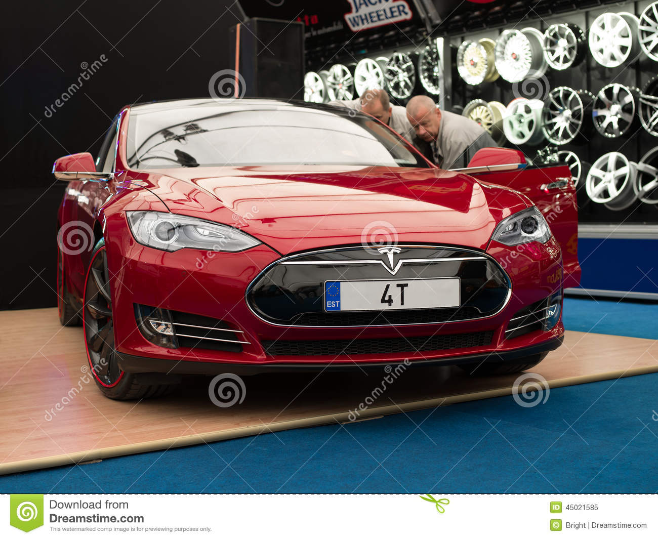 Tesla model s editorial image image 45021585 for Electric car motor manufacturers