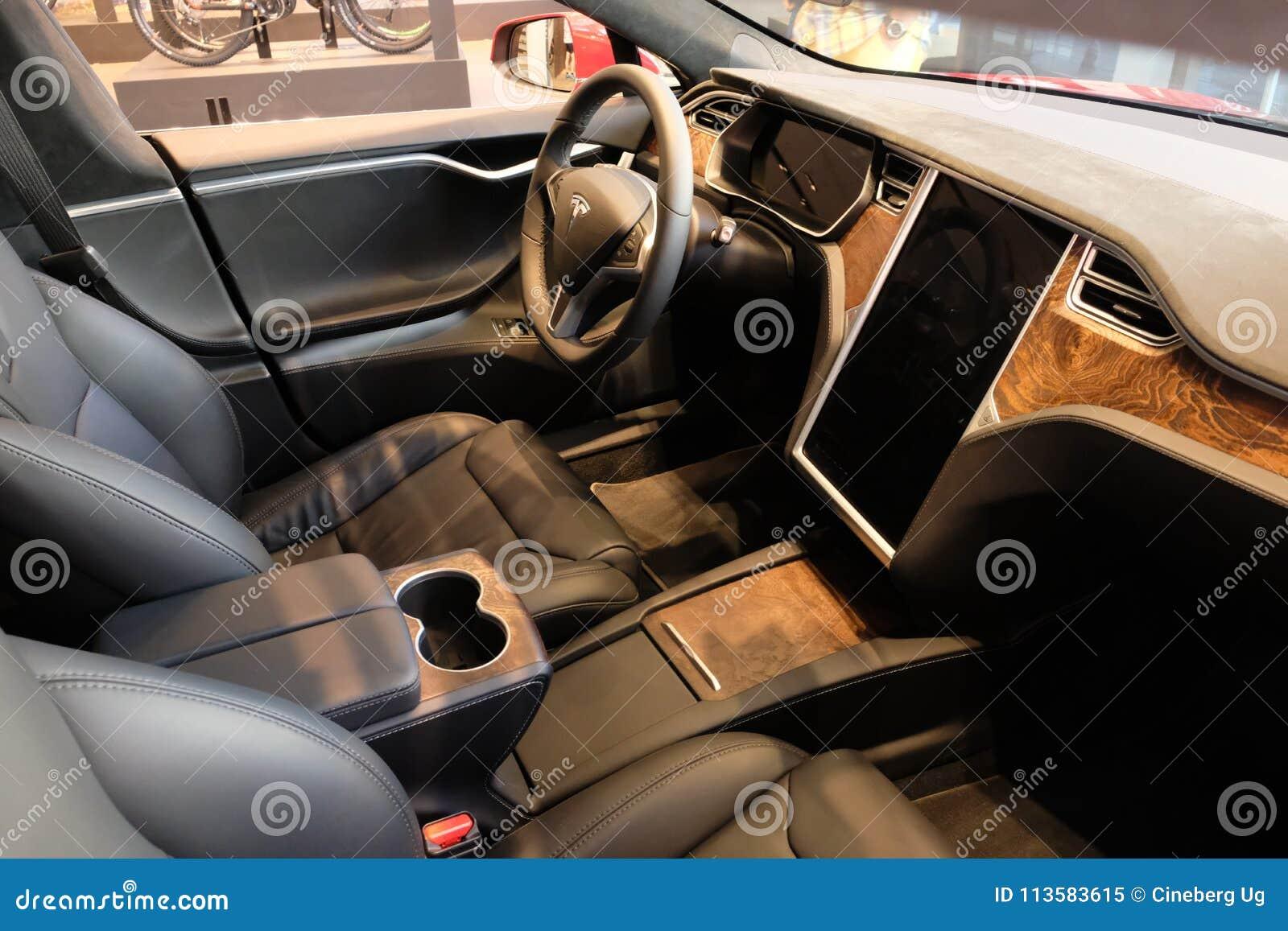 Tesla Modelx elektrische auto
