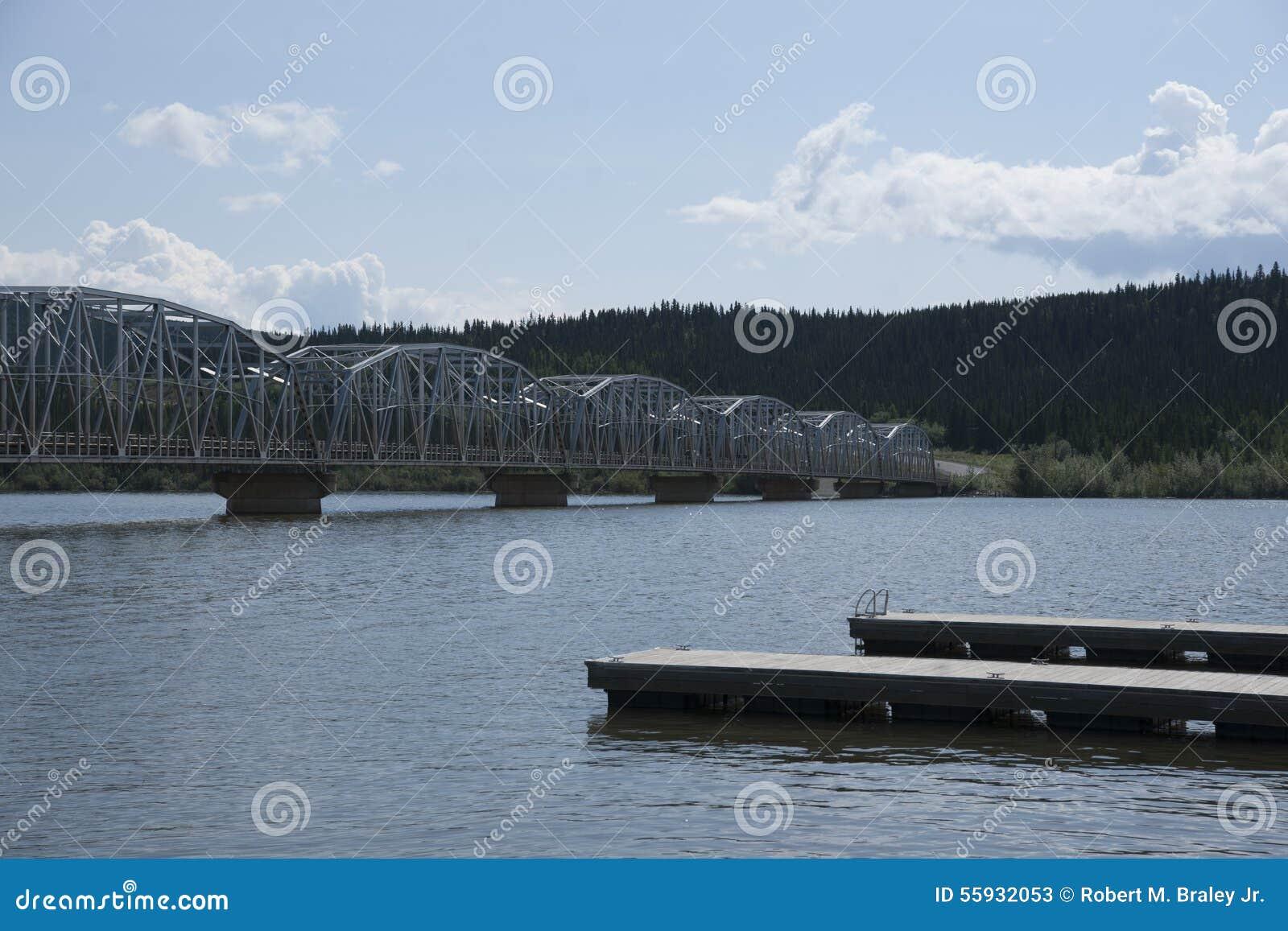Teslin Lake Yukon Territory Canada