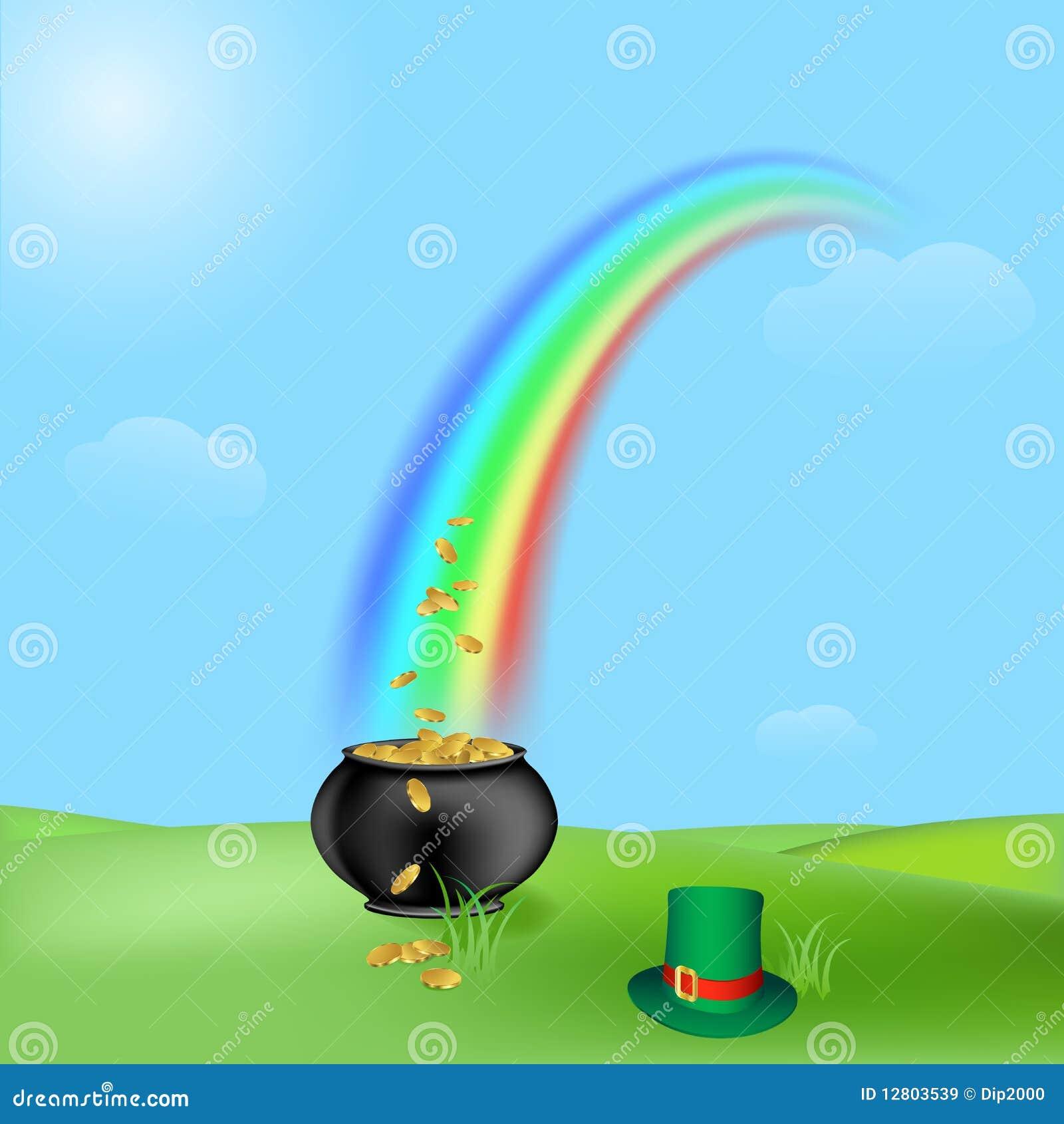 Tesouro e arco-íris