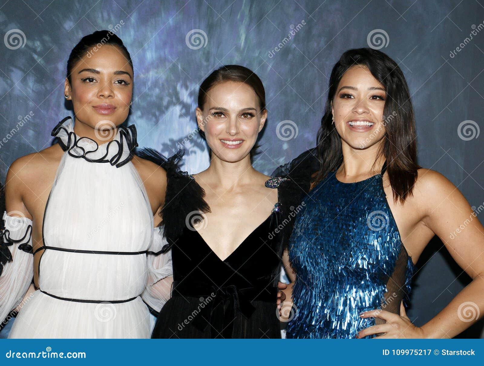 Tessa Thompson, Natalie Portman och Gina Rodriguez