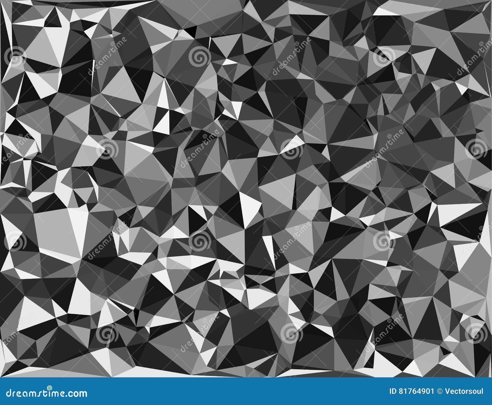 Tessellating trójboków przypadkowy wzór, tła dopasowania przestrzeń