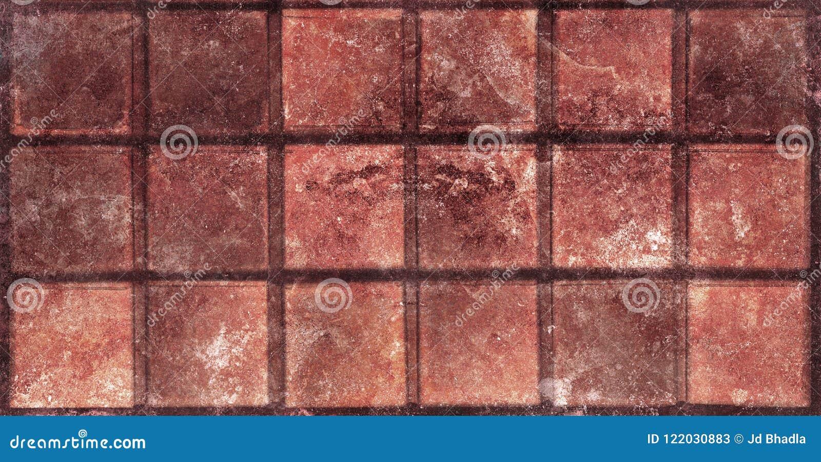 Tessere beige scure progettazione del mosaico delle piastrelle