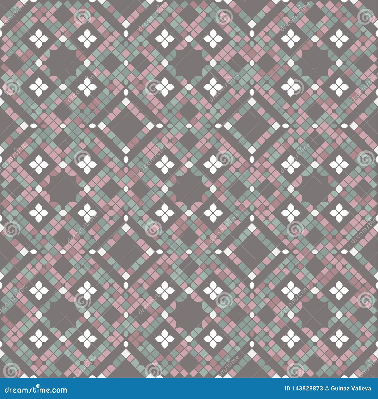 Tessere del pavimento nei colori pastelli