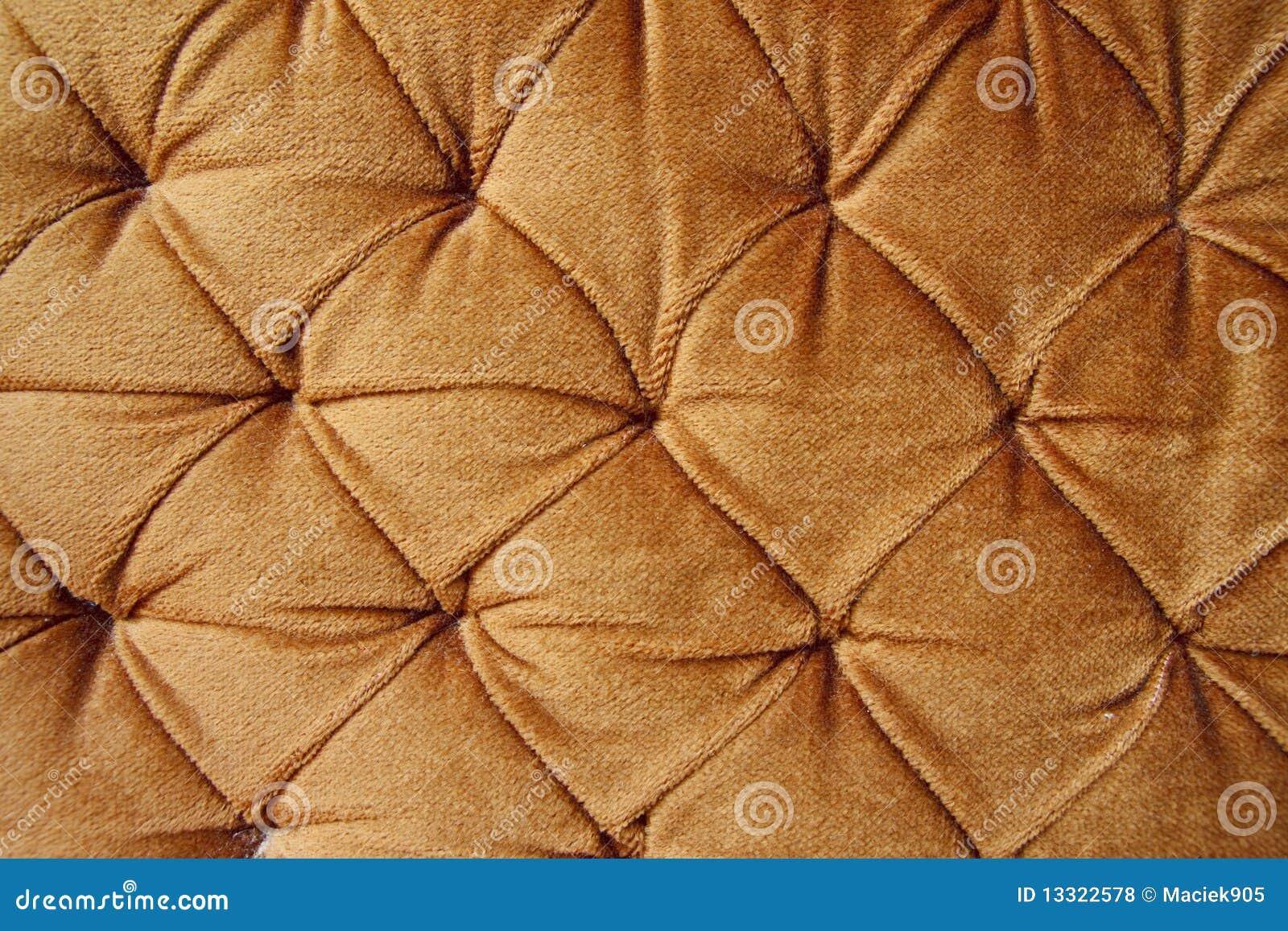 Tessuto alla moda dorato con i perni