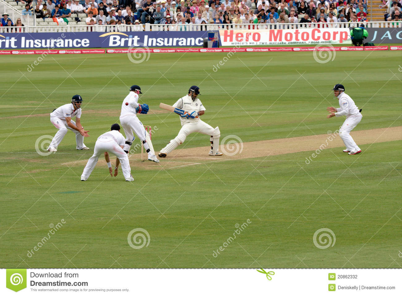 Test Cricket Match Players Editorial Photography - Image ...