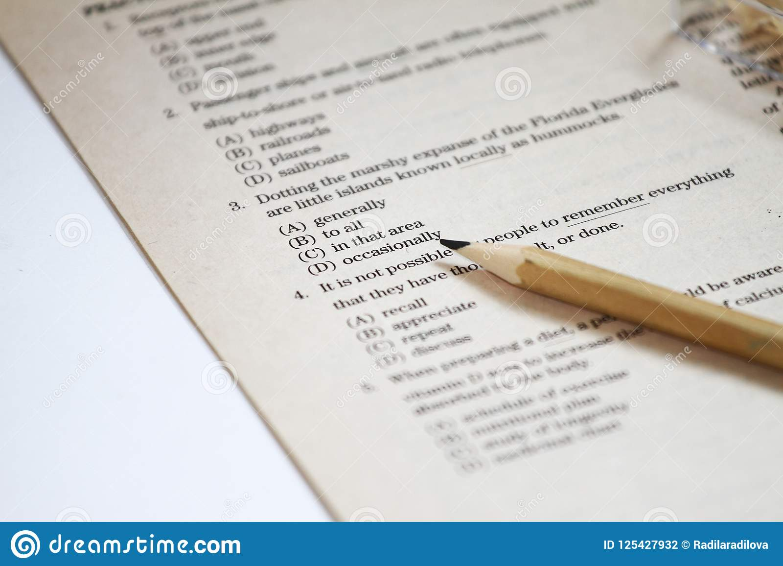 TEST  English Test Choose The Right Answer  English Grammar Test