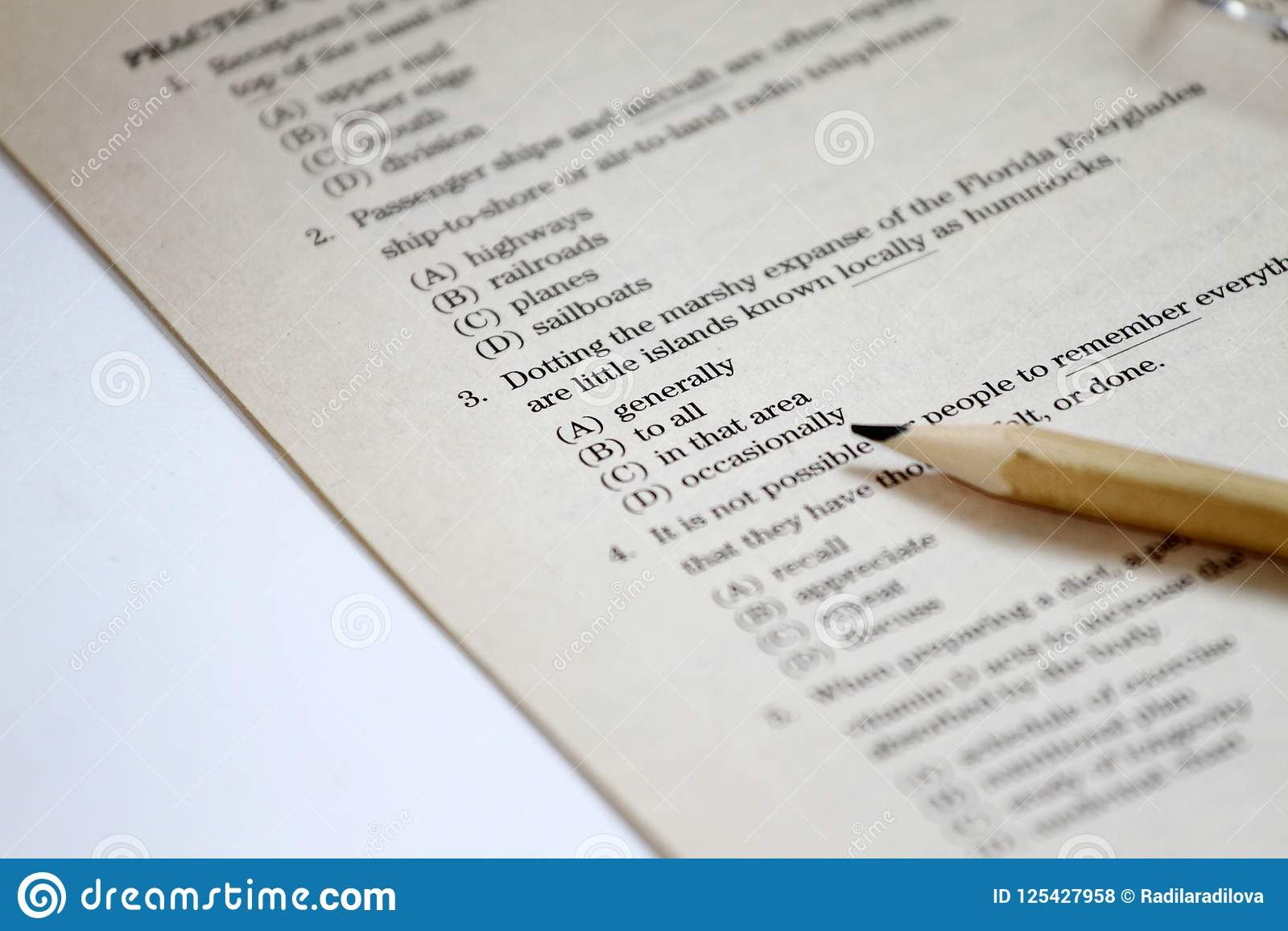 TEST  English Test Choose The Right Answer  English Grammar Test