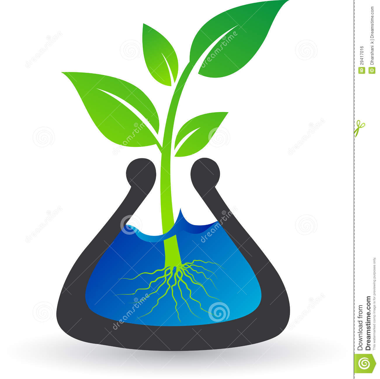 Test Tube Plant Royalty Free Stock Image Image 29417016