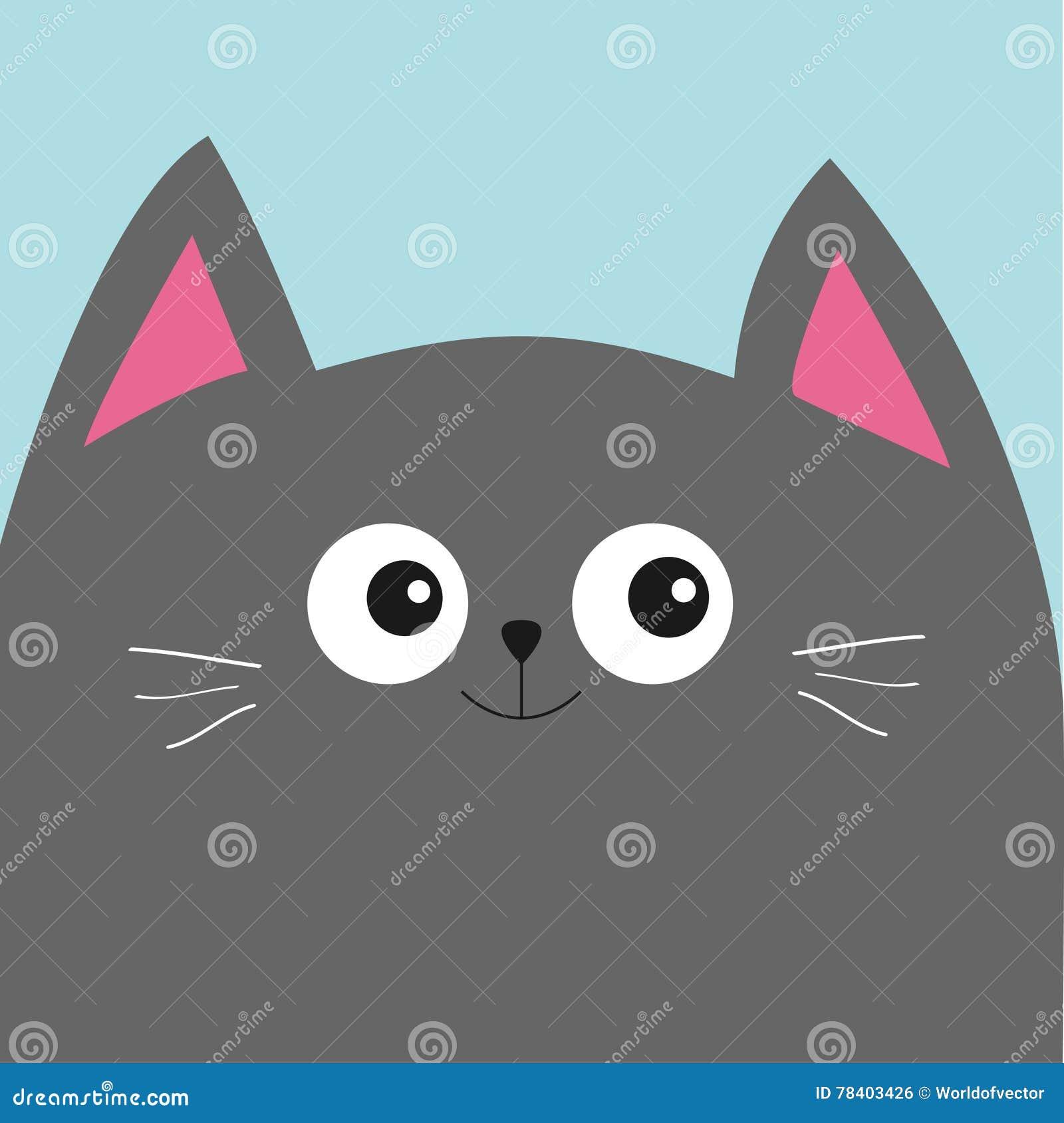 Acquista cartone animato animale adesivo da parete gatto carta da