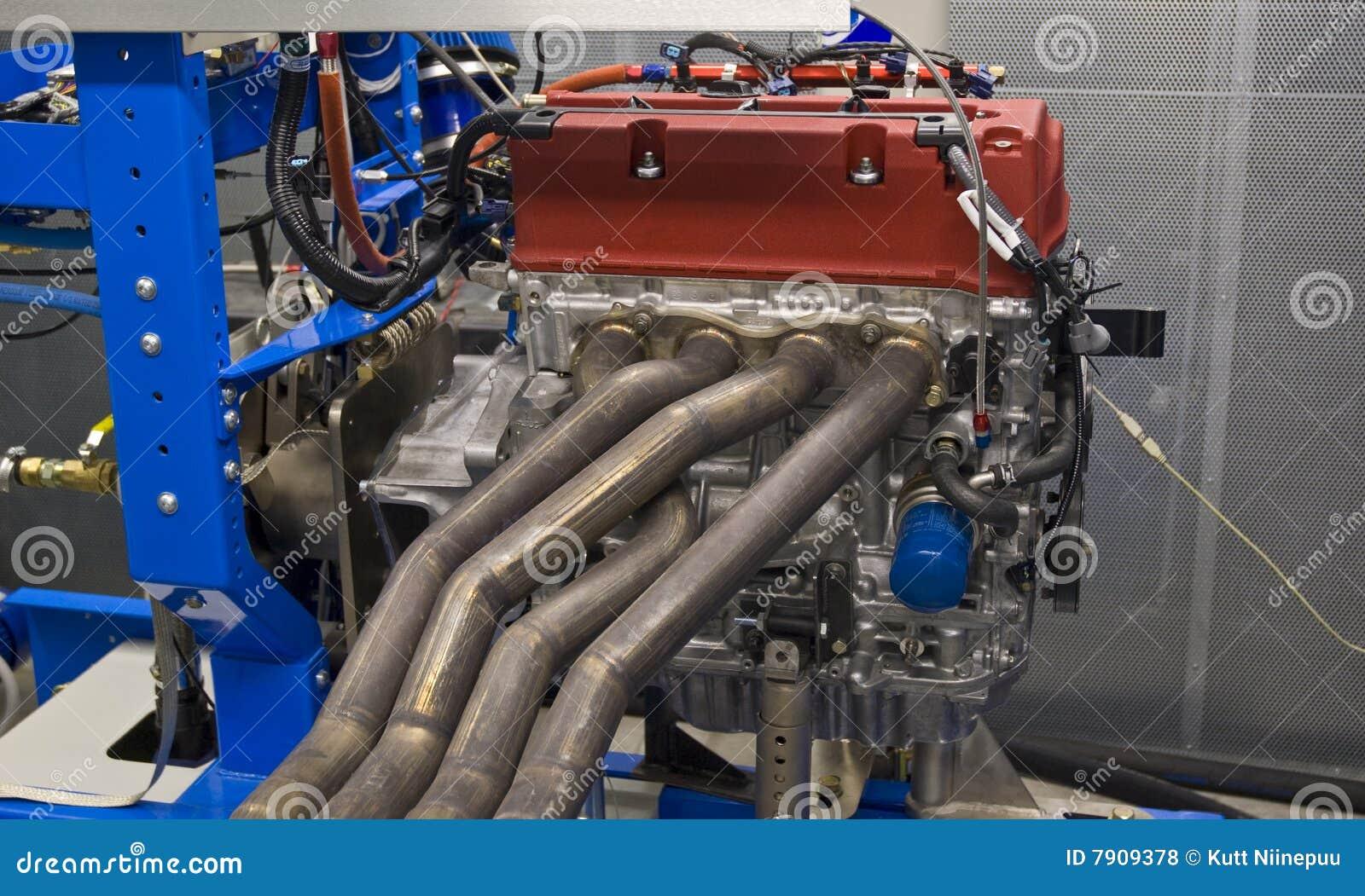 Teste e ajustamento do motor