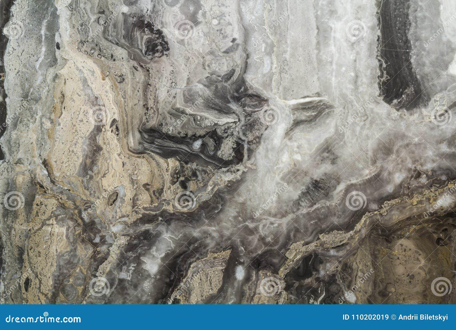 Teste padrão abstrato de mármore preto do fundo com alta resolução Fundo do vintage ou do grunge da textura velha de pedra natura