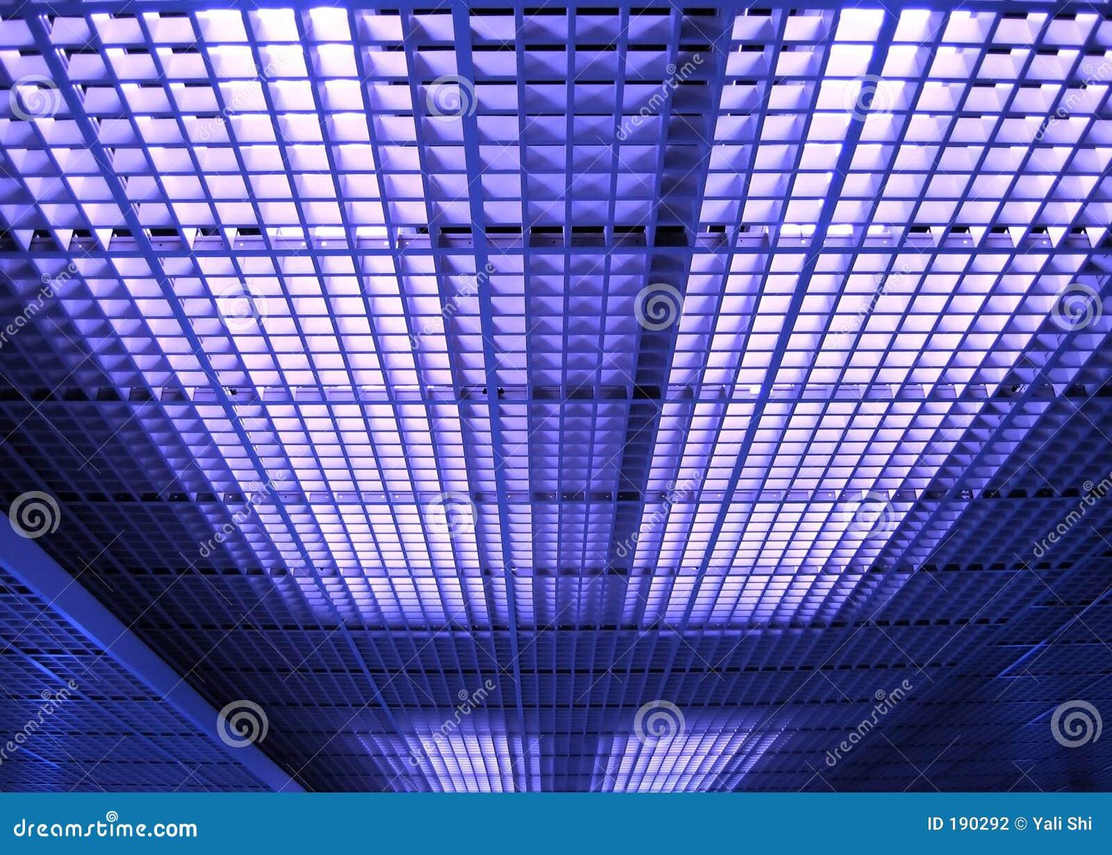 Teste padrão abstrato do teto