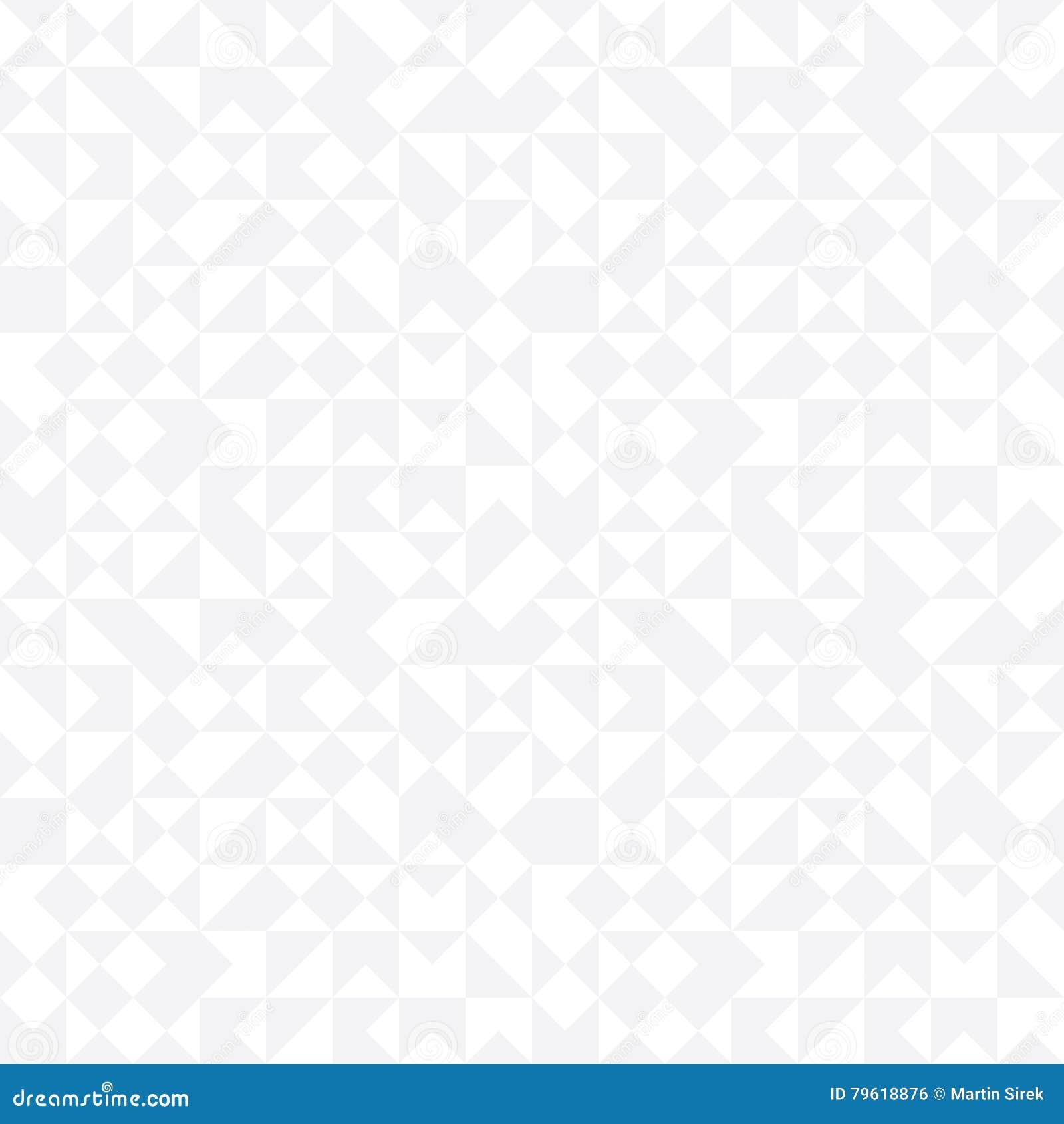Teste padrão aleatório da telha da geometria abstrata moderna do vetor fundo geométrico sem emenda cinzento
