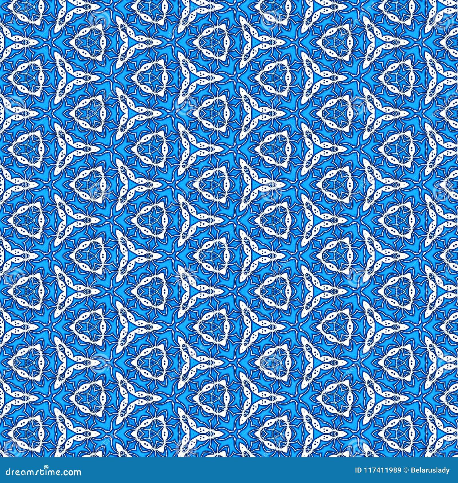 Teste padrão azul contínuo da proposta do porto