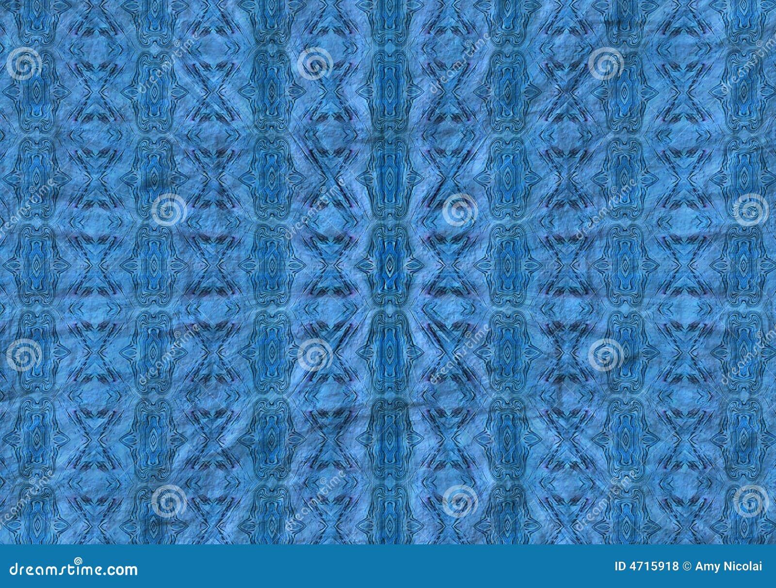 Teste padrão azul radial