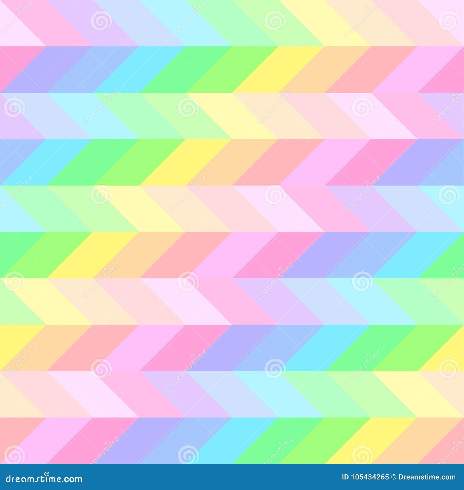Teste padrão bonito brilhante sem emenda de listras diagonais e horizontais iridescentes da espessura igual para meninas ou crian