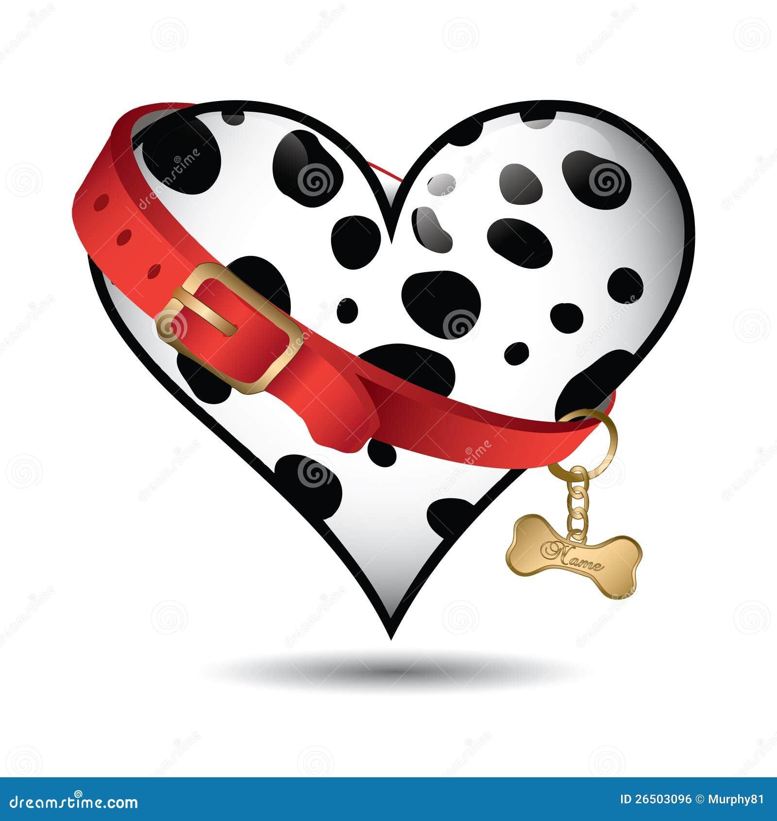 Teste padrão bonito do dalmatian do animal de estimação
