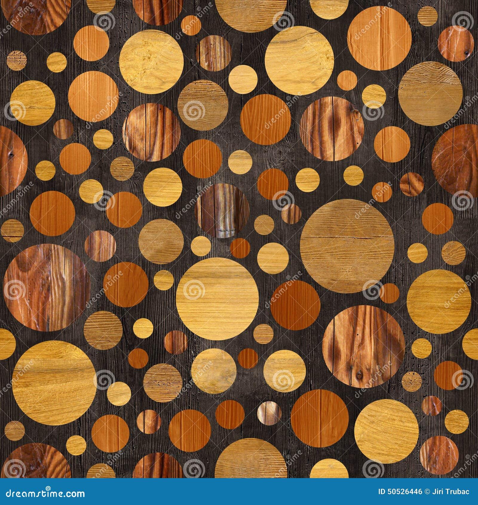 57234f889438b Teste padrão abstrato do paneling - cores diferentes - teste padrão da bolha