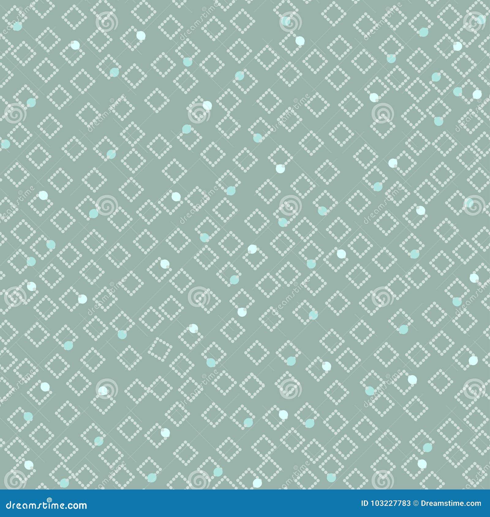 Teste padrão claro simples sem emenda de pontos e de diamantes cor-de-rosa