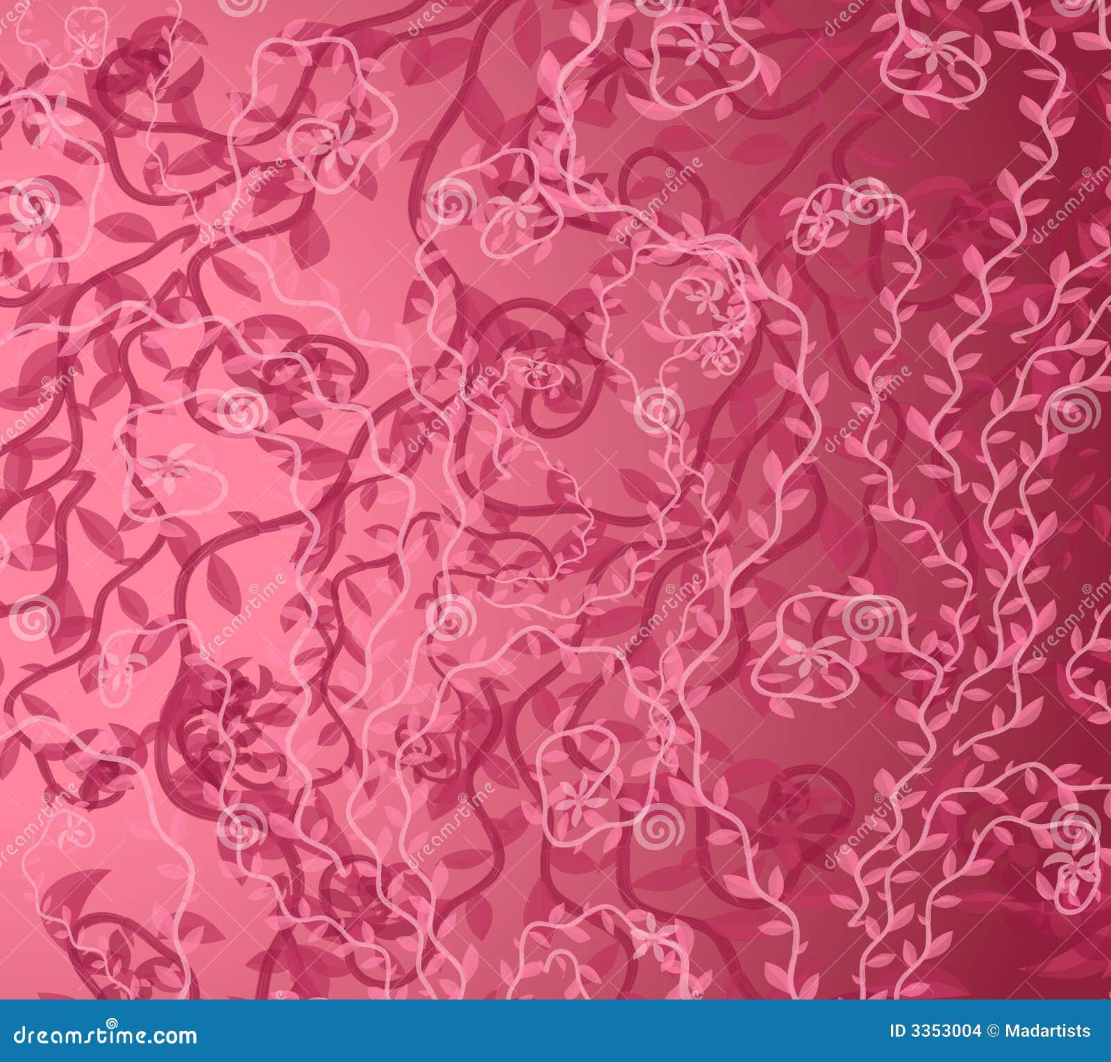 Teste padrão cor-de-rosa do fundo da videira