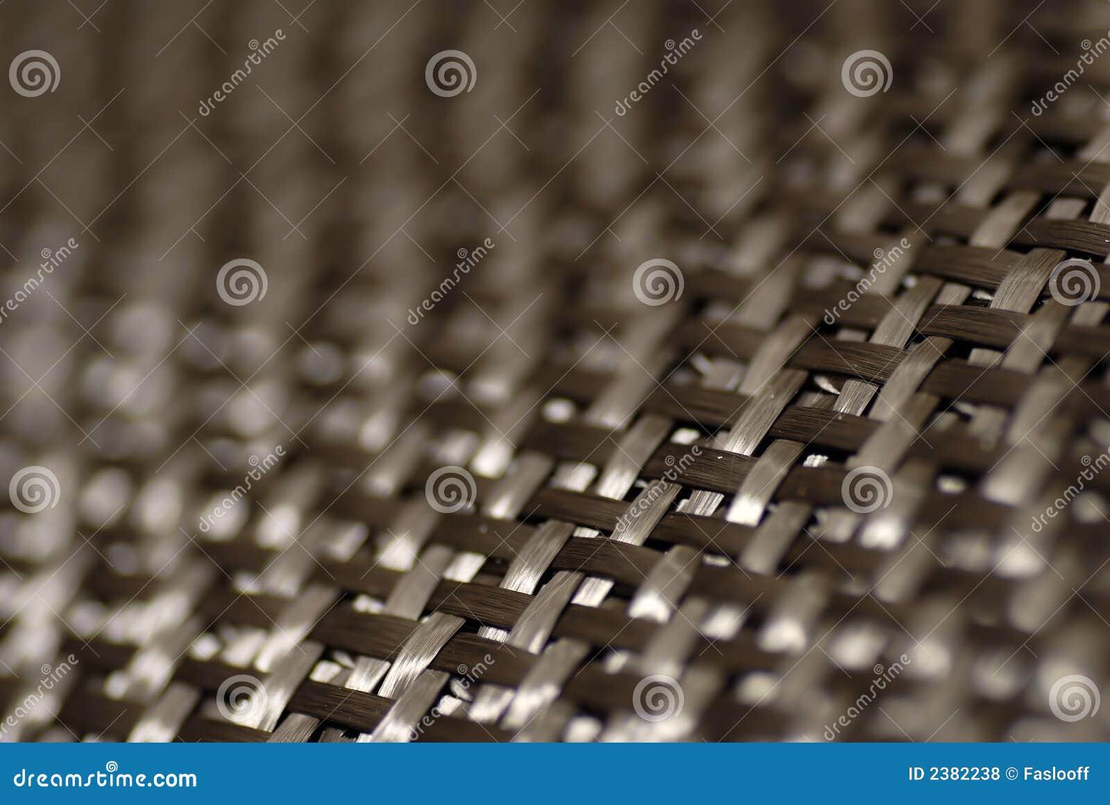 Teste padrão da fibra do carbono