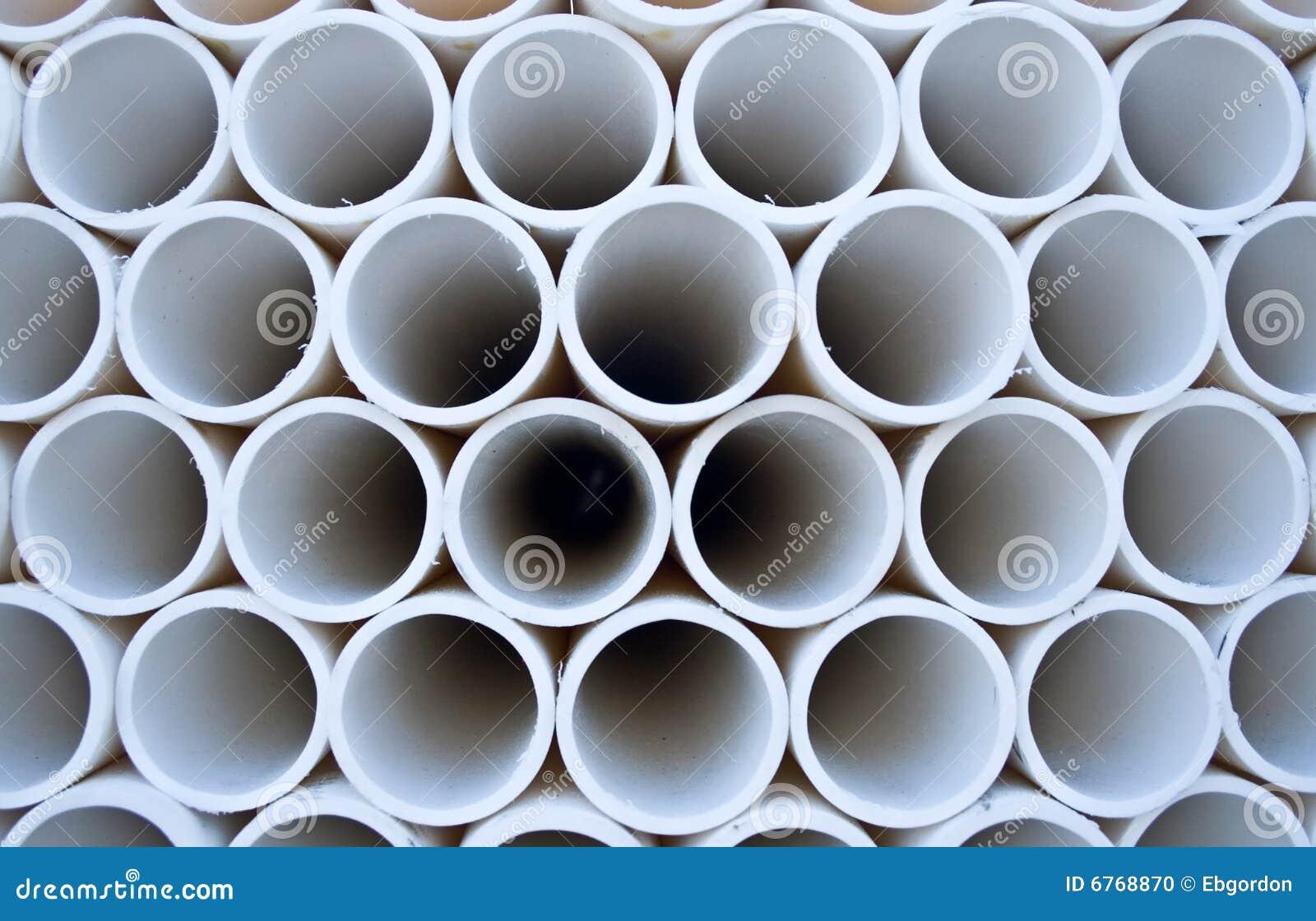 Teste padrão da tubulação do PVC