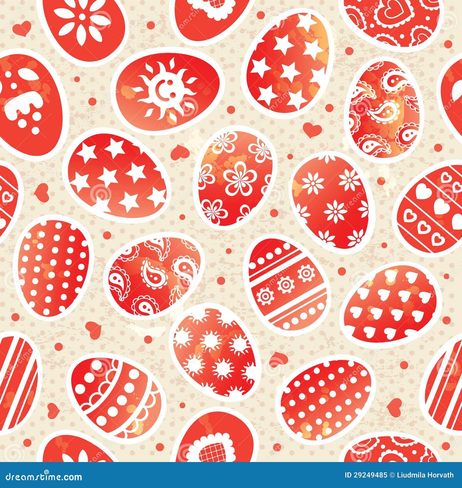 Download Teste padrão de Easter ilustração do vetor. Ilustração de cartoon - 29249485