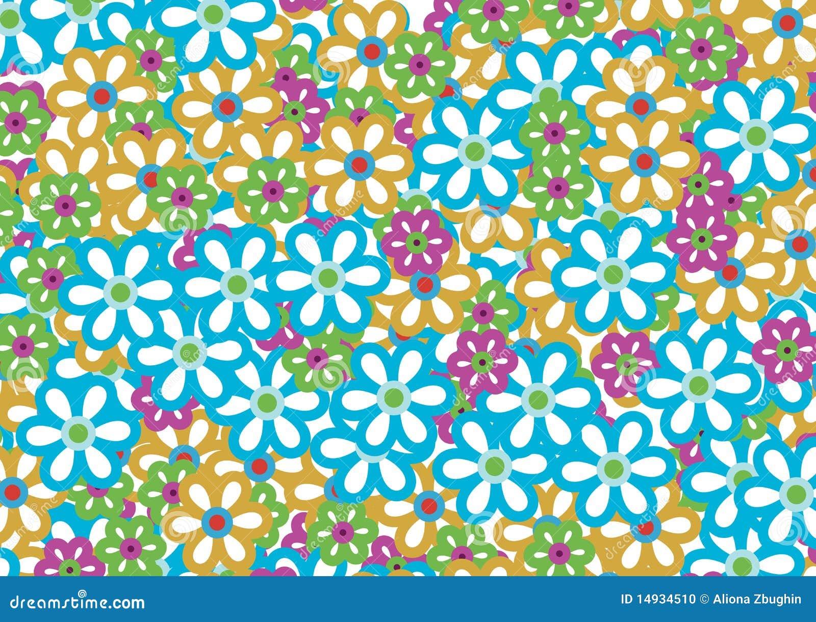 Teste padrão de flor 3