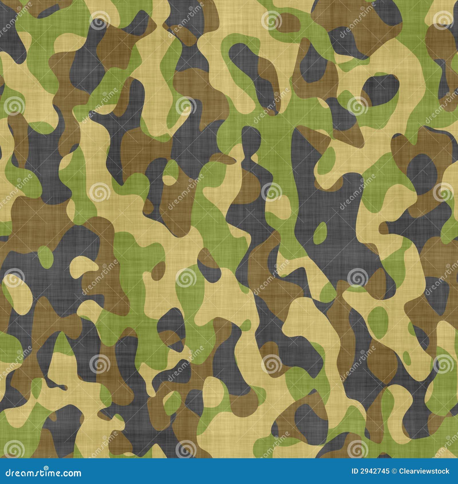 Teste padrão de pano camuflar