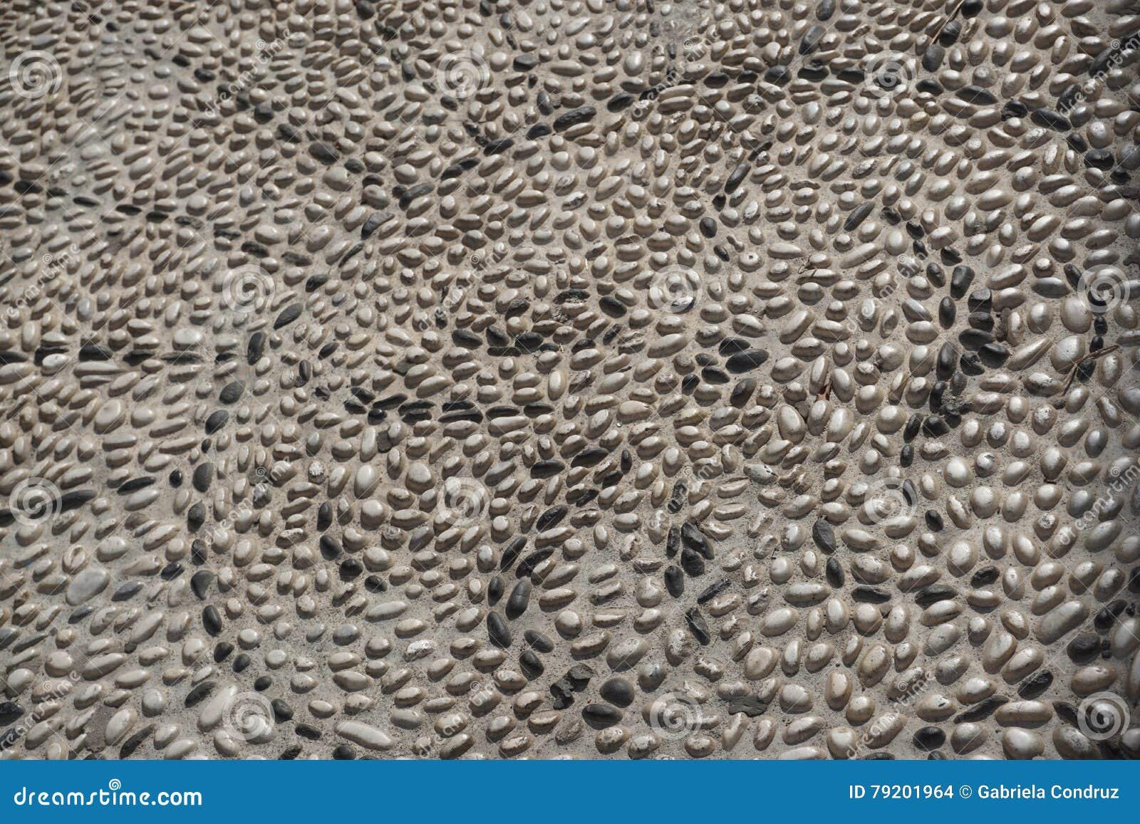 Teste padrão de pedra